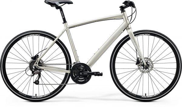 Велосипед 28″ Merida CROSSWAY URBAN 40 Matt Titan (Silver) 2020