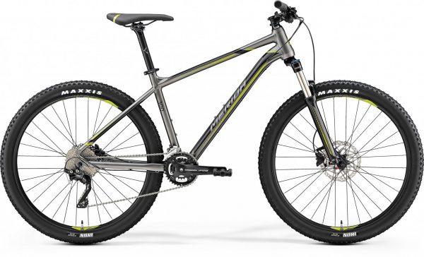 Велосипед 27.5″ Merida BIG.SEVEN 300 Silk anthracite (Green/Black)