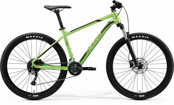 Велосипед 27.5″ Merida BIG.SEVEN 200 Glossy Green (Black)