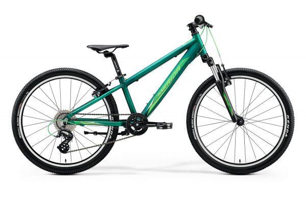 Велосипед 24″ Merida MATTS J.24 Matt Dark Green (Light Green) 2020