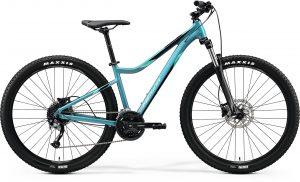 Велосипед 27.5″ Merida MATTS 7.100 Glossy Teal (Silver-Green/Black) 2020