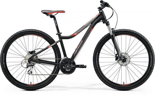 Велосипед 27.5″ Merida MATTS 7.20 Matt Black (Red/Grey) 2020