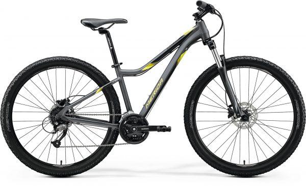Велосипед 27.5″ Merida MATTS 7.40 Matt Anthracite (Yellow/Black) 2020