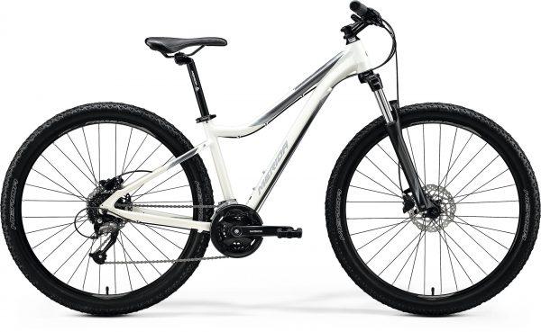 Велосипед 27.5″ Merida MATTS 7.40 Glossy White (Silver) 2020