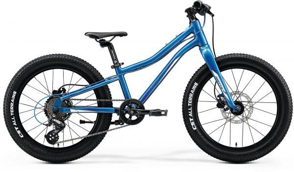 Велосипед 20″ Merida MATTS J.20+ Glossy Light Blue (Blue/White) 2020