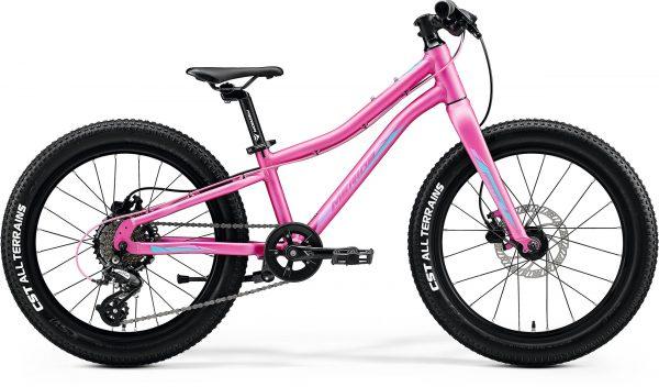 Велосипед 20″ Merida MATTS J.20+ Silk Candy Pink (Purple/Blue) 2020