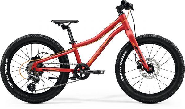 Велосипед 20″ Merida MATTS J.20+ Silk X'mas Red (Orange/Black) 2020