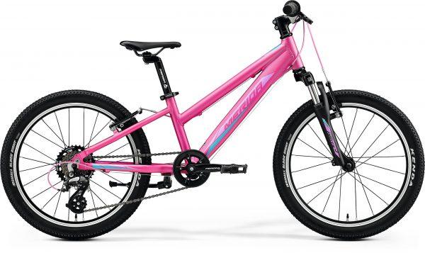 Велосипед 20″ Merida MATTS J.20 Silk Candy Pink (Purple/Blue) 2020