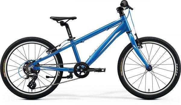 Велосипед 20″ Merida MATTS J.20 RACE Glossy Light Blue (Blue/White) 2020