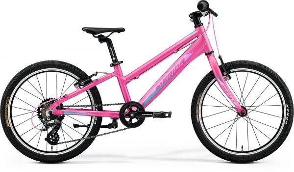 Велосипед 20″ Merida MATTS J.20 RACE Silk Candy Pink (Purple/Blue) 2020