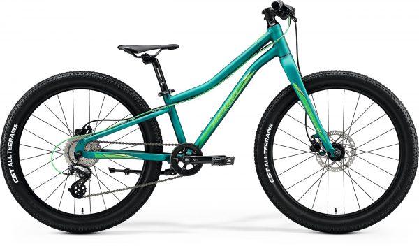 Велосипед 24″ Merida MATTS J.24+ Matt Dark Green (Light Green) 2020