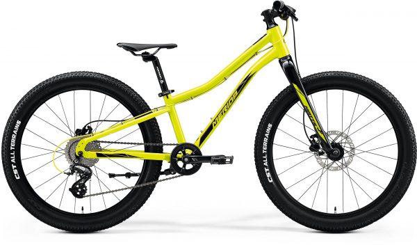 Велосипед 24″ Merida MATTS J.24+ Glossy Sparkling Yellow (Black) 2020