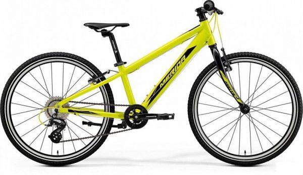 Велосипед 24″ Merida MATTS J.24 RACE Glossy Sparkling Yellow (Black) 2020