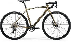 Велосипед 28″ Merida MISSION CX 100 SE Glossy Pearl Sand (Black) 2020