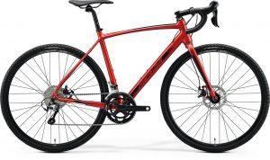Велосипед 28″ Merida MISSION CX 300 SE Silk X'mas Red (Black) 2020