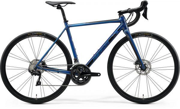 Велосипед 28″ Merida MISSION ROAD 400 Silk Ocean Blue (Black) 2020
