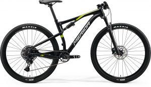 Велосипед 29″ Merida NINETY-SIX 9.3000 Silk Metallic Black (Glossy Green) 2020
