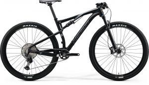 Велосипед 29″ Merida NINETY-SIX 9.XT Silk Metallic Black (Dark Silver) 2020