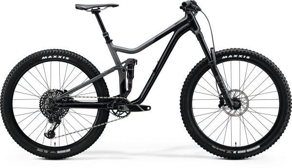 Велосипед 27.5″ Merida ONE-FORTY 800 Glossy Black/Matt Dark Grey 2020
