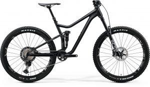 Велосипед 27.5″ Merida ONE-FORTY 900 Matt Black/Glossy Candy Green 2020