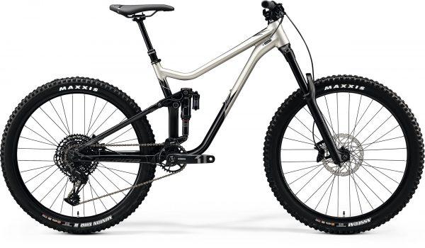 Велосипед 27.5″ Merida ONE-SIXTY 400 Silk Titan/Black 2020