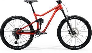 Велосипед 27.5″ Merida ONE-SIXTY 400 Matt Red/Glossy X'mas Red 2020