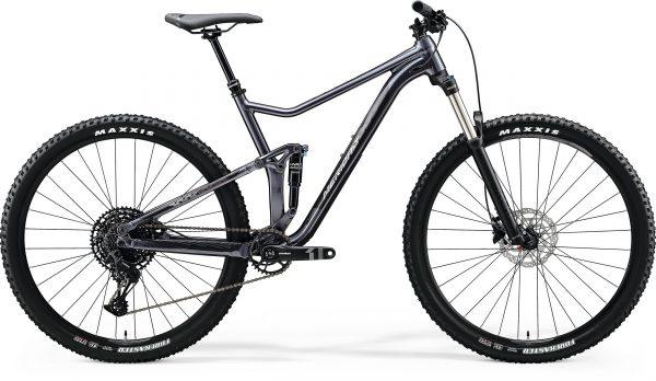 Велосипед 29″ Merida ONE-TWENTY 9.400 Glossy Anthracite (Silver) 2020