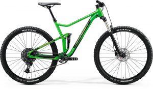 Велосипед 29″ Merida ONE-TWENTY 9.400 Glossy Green (Black) 2020
