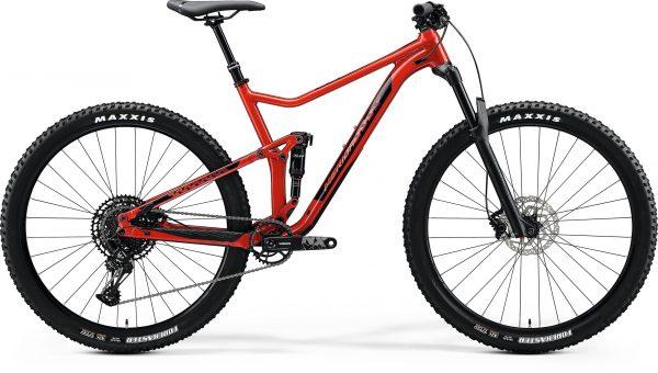 Велосипед 29″ Merida ONE-TWENTY 9.600 Glossy X'mas Red (Black) 2020