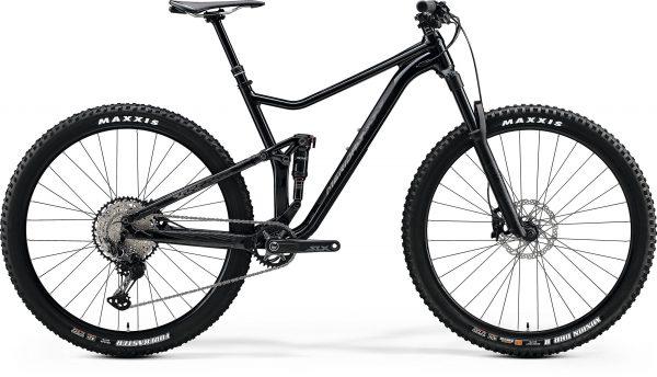 Велосипед 29″ Merida ONE-TWENTY 9.700 Metallic Black (Matt Silver) 2020