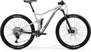 Велосипед 29″ Merida ONE-TWENTY RC 9.XT-Edition Silk Titan (Dark Silver) 2020