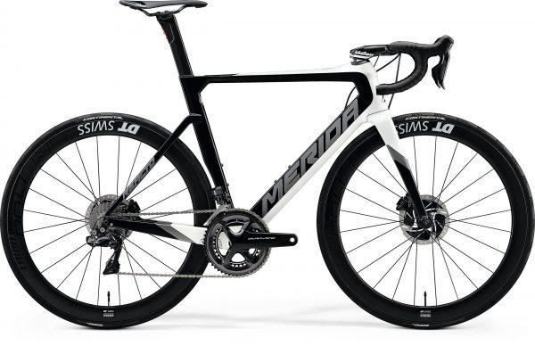 Велосипед 28″ Merida REACTO DISC 10K-E Pearl White/Glossy Black 2020