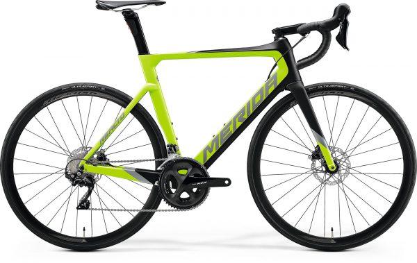 Велосипед 28″ Merida REACTO DISC 4000 Matt Black/Glossy Green 2020