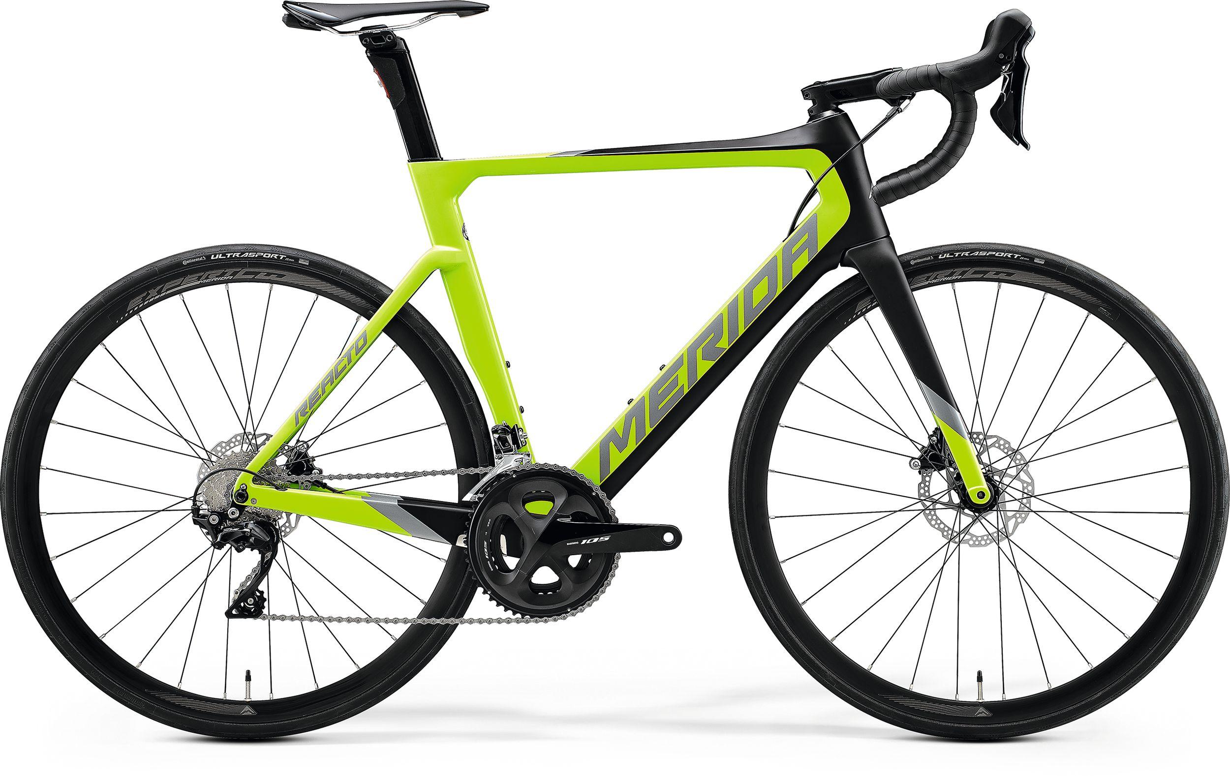 Велосипед Merida REACTO DISC 4000