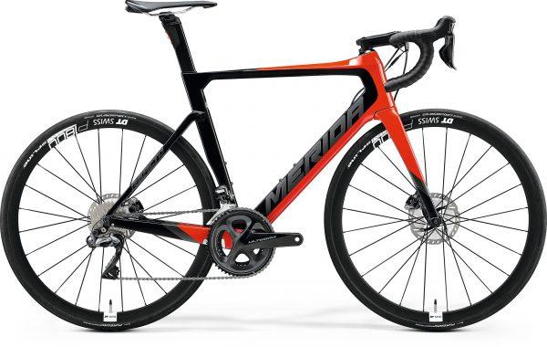 Велосипед 28″ Merida REACTO DISC 7000-E Glossy Red/Black 2020