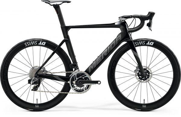 Велосипед 28″ Merida REACTO DISC 9000-E Glossy Black/Silk Black 2020