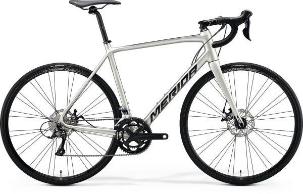 Велосипед 28″ Merida SCULTURA DISC 200 Silk Titan (Black) 2020