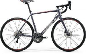 БУ Велосипед 28″ Merida SCULTURA DISC 300 Silk Anthracite (Race Red) 2020