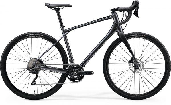 Велосипед 28″ Merida SILEX 400 Glossy Anthracite (Matt Black) 2020