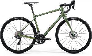 Велосипед 28″ Merida SILEX 7000 Matt Fog Green (Glossy Silver-Green) 2020