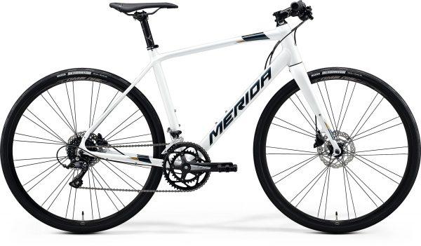 Велосипед 28″ Merida SPEEDER 200 White (Dark Silver/Gold) 2020