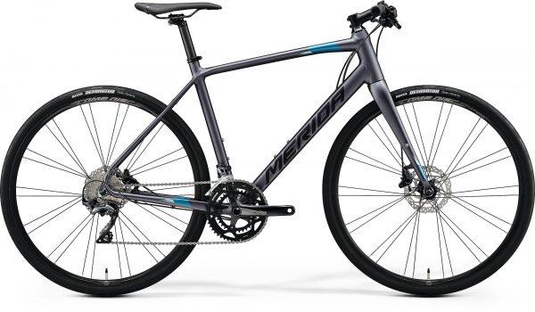 Велосипед 28″ Merida SPEEDER 500 Matt Anthracite (Black/Blue) 2020