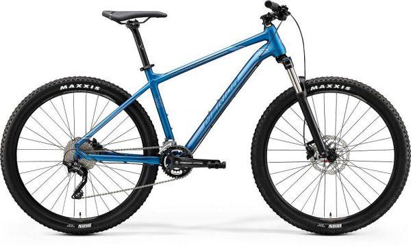 Велосипед 27.5″ Merida BIG.SEVEN 300 Matt light blue (Glossy Blue/Silver)
