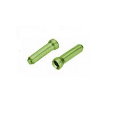 Кабельные наконечники на трос Merida Cable Tips Brake & Shift Green