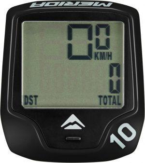 Велокомпьютер Merida Cycling computer M10 Wireless 10 Black