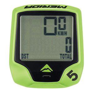 Велокомпьютер Merida Cycling computer M5 wired 5 Green
