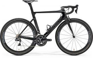 Велосипед 28″ Merida REACTO 8000-E Matt UD (Shiny Black/Chrome)