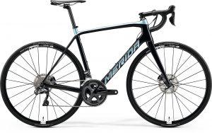 Велосипед 28″ Merida SCULTURA Disc 7000-E Ud+Trans Blue/Blue-Silver
