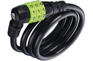 Велозамок противоугонный Merida Cable Lock 90 см 3-значный код