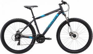 Велосипед 27,5″ Apollo ASPIRE 30 matte Black / Blue / Charcoal 2019